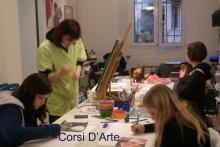 Corsi collettivi di disegno, pittura e incisione
