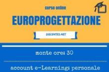 Europrogettazione - corso online da 30 ore