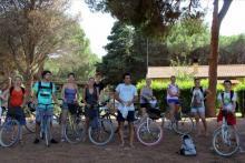 Biciclettata nella natura