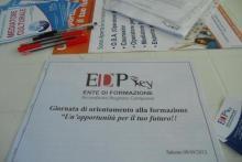 GIORNATA DI ORIENTAMENTO ALLA FORMAZIONE 08/09/2012