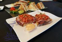 Corso Snack preparazione appetizers utilizzo piastra, San Dona'
