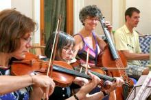 Violino, Viola da Gamba