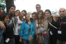 Gruppo 2012 lavorando a CINEMA D'AMARE con Franco Rina