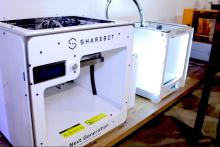 Alcune delle numerose macchine di prototipazione rapida additiva (3d printing) presenti nel Lab DAMA