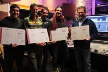 Consegna Diplomi e Certificati Steinberg Corso Cubase Pro 8