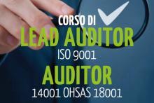 Corso Lead Auditor ISO 9001 Auditor 14001 OSHSAS 18001