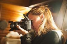 Sara Sauvage, insegnante di fotografia