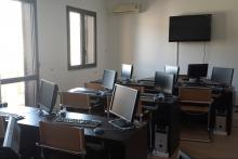 Vista dell'aula del corso Cisco CCNA di Bagojka Networking