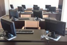 Vista aula multimediale Bagojka Networking.