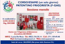 Patentino Frigorista Reg. 304/2008