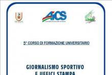 """5° Corso di Formazione Universitario """"Giornalismo Sportivo e Uffici Stampa"""""""