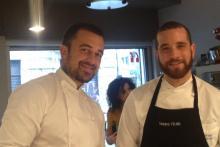 Chef Rubio e Roberto Cuculo