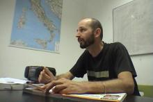 Gianluca is teaching