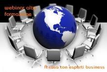webinar di formazione con esperti universitari su business e lavoro