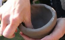 mani, tecniche di manipolazione argilla