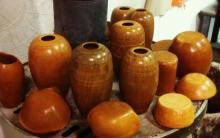 preparazione oggetti per la cottura in bucchero etrusco